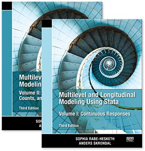 Multilevel and Longitudinal Modeling Using Stata, Volumes I and II, Third Edition: Sophia ...