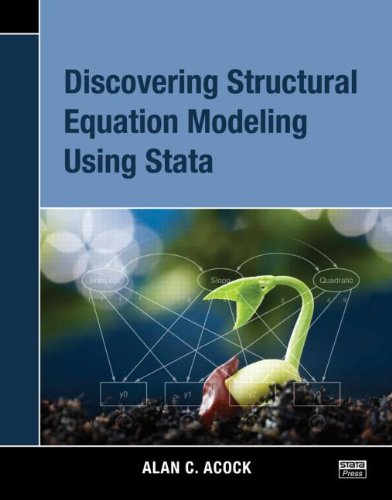 9781597181334: Discovering Structural Equation Modeling Using Stata