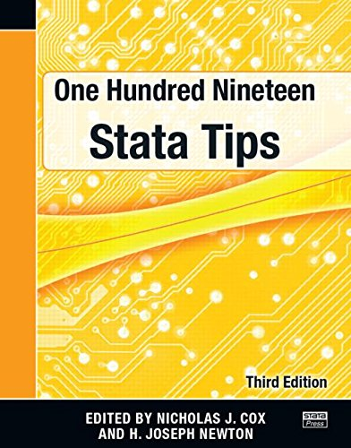 9781597181433: One Hundred Nineteen Stata Tips, Third Edition