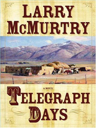 9781597222495: Telegraph Days (Wheeler Large Print Book Series)