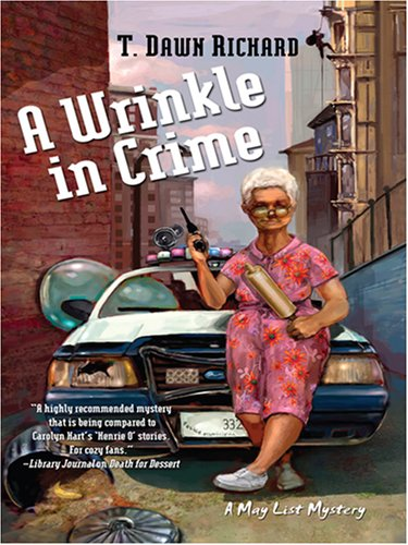 9781597225144: A Wrinkle in Crime (Wheeler Large Print Cozy Mystery)