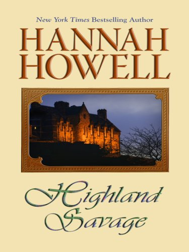 9781597225601: Highland Savage (Wheeler Large Print Book Series)