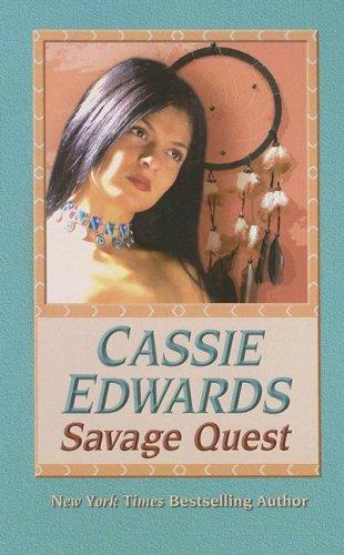 9781597226387: Savage Quest (Wheeler Large Print Book Series)