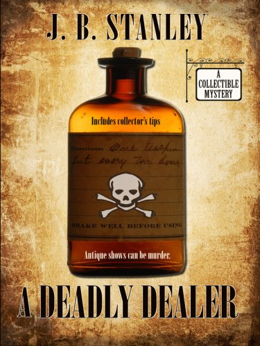 9781597226714: A Deadly Dealer (Wheeler Large Print Cozy Mystery)