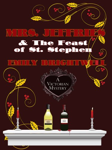 9781597227124: Mrs. Jeffries and the Feast of St. Stephen (Wheeler Large Print Cozy Mystery)