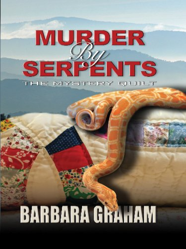 9781597227148: Murder by Serpents: The Mystery Quilt (Wheeler Large Print Cozy Mystery)