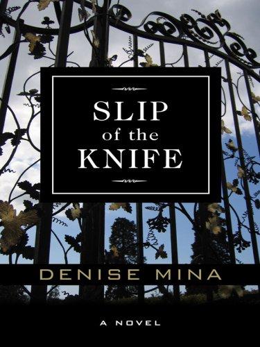 9781597227230: Slip of the Knife (Wheeler Large Print Book Series)