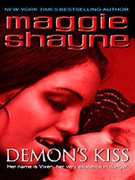 9781597227322: Demon's Kiss (Wheeler Large Print Book Series)