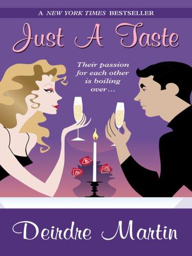 Just a Taste (Wheeler Hardcover): Deirdre Martin