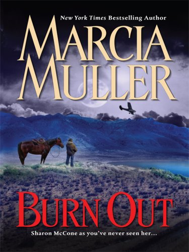 9781597228251: Burn Out (Wheeler Large Print Book Series)