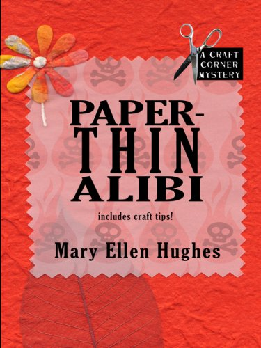9781597228398: Paper-thin Alibi: A Craft Corner Mystery (Wheeler Large Print Cozy Mystery)