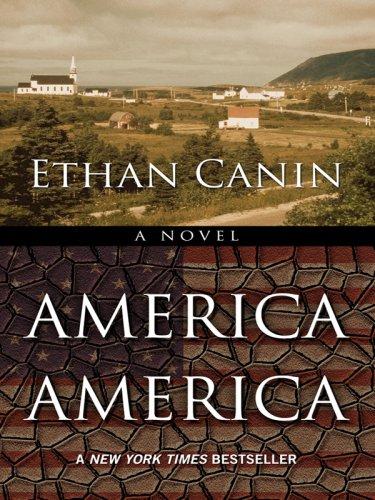 9781597228640: America America (Wheeler Large Print Book Series)