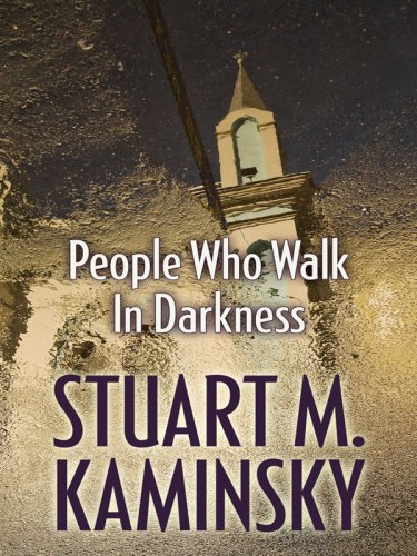 9781597228749: People Who Walk in Darkness (Wheeler Large Print Book Series)