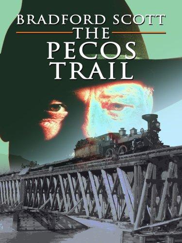 9781597229081: The Pecos Trail (Wheeler Large Print Western)