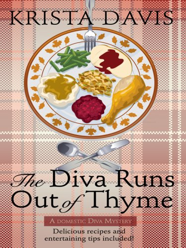 9781597229388: The Diva Runs Out of Thyme (Wheeler Large Print Cozy Mystery)