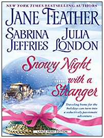 9781597229593: Snowy Night With a Stranger (Superior Collection)