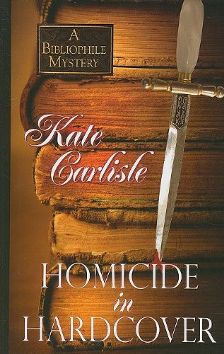9781597229913: Homicide in Hardcover (Wheeler Large Print Cozy Mystery)