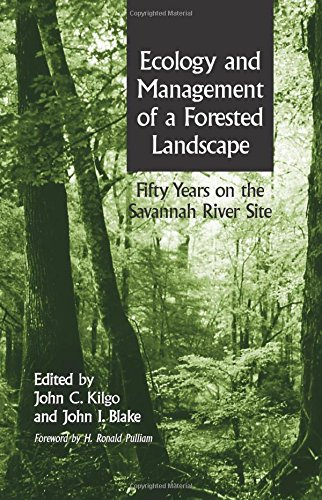 9781597260114: Ecology and Management of a Forested Landscape: Fifty Years on the Savannah River Site