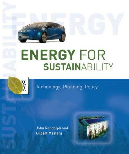 9781597261043: Energy for Sustainability: Technology, Planning, Policy