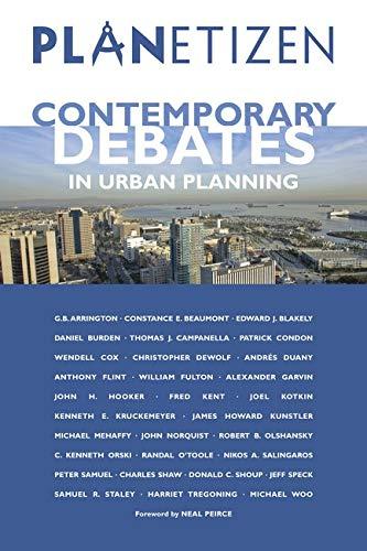 9781597261326: Planetizen's Contemporary Debates in Urban Planning