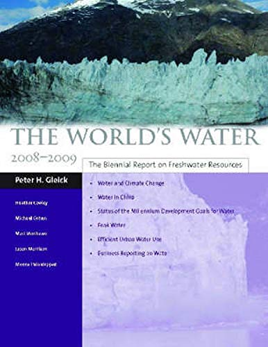 9781597265058: The World's Water 2008-2009: The Biennial Report on Freshwater Resources