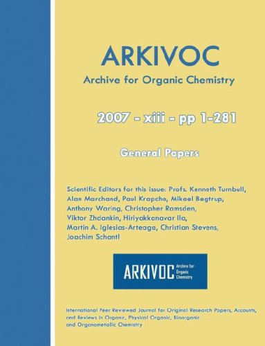 ARKIVOC 2007 (xiii) General Papers: Kenneth Turnbull (Editor),