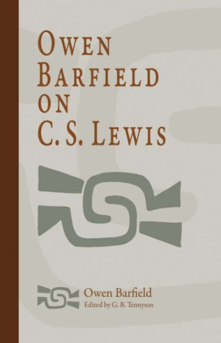 9781597311014: Owen Barfield on C. S. Lewis
