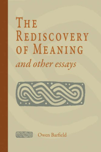 9781597311038: The Rediscovery of Meaning and Other Essays