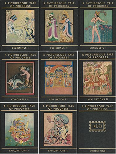 PICTURESQUE TALE OF PROGRESS (9 VOLUMES): Miller, Olive Beaupre