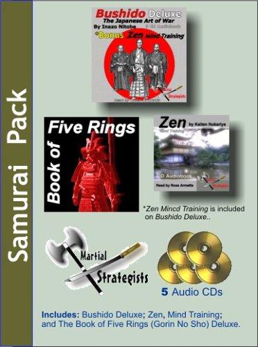 9781597332040: Samurai Audiopack: Bushido, the Book of 5 Rings and Zen Mind Control
