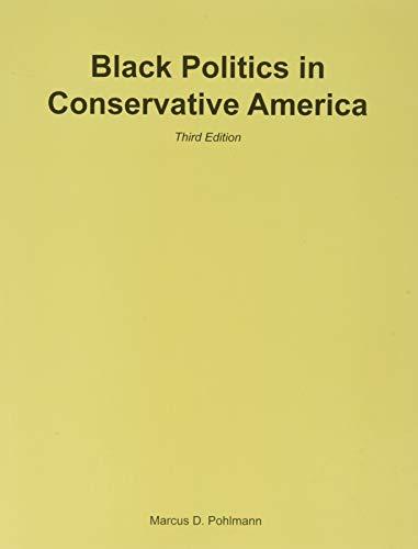 9781597380126: Black Politics in Conservative America