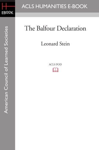 9781597404754: The Balfour Declaration
