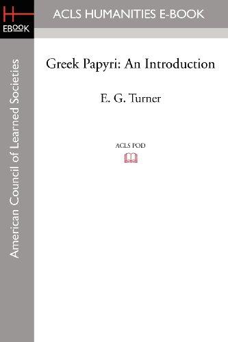 9781597405799: Greek Papyri: An Introduction