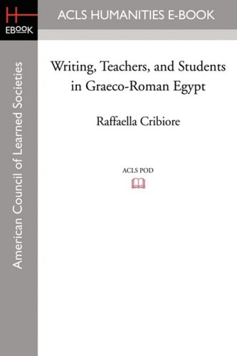 9781597405812: Writing, Teachers, and Students in Graeco-Roman Egypt (American Studies in Papyrology)