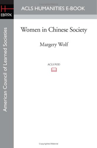 wolf margery witke roxane - women in chinese society - AbeBooks