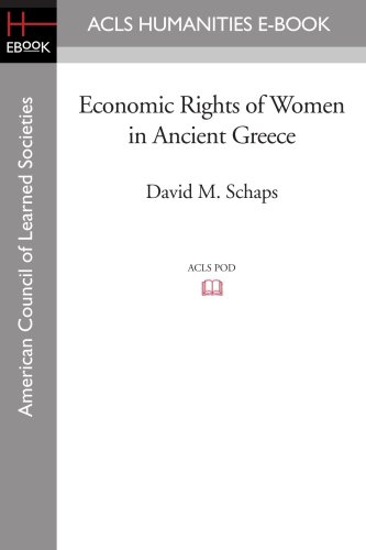 9781597406895: Economic Rights of Women in Ancient Greece
