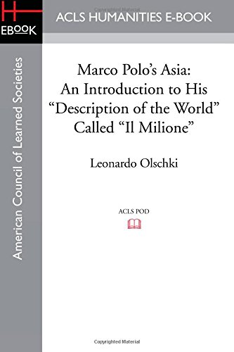 9781597409520: Marco Polo's Asia: An Introduction to His