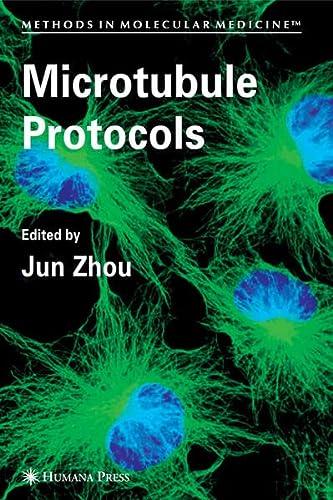 9781597454421: Microtubule Protocols (Methods in Molecular Medicine)