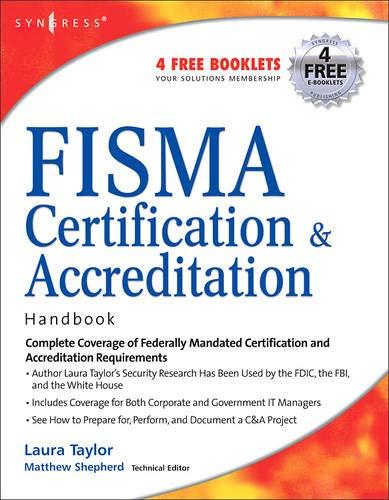 9781597491167: Fisma Certification & Accreditation Handbook