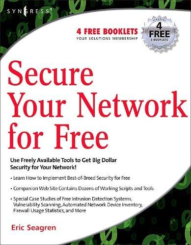 9781597491235: Secure Your Network for Free