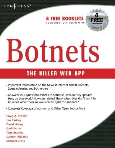 Botnets: SCHILLER, CRAIG; BINKLEY,