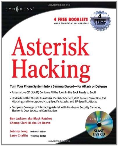 9781597491518: Asterisk Hacking
