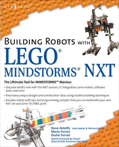 9781597491525: Building Robots with LEGO Mindstorms NXT