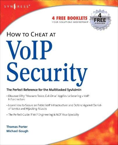 9781597491693: How to Cheat at VoIP Security