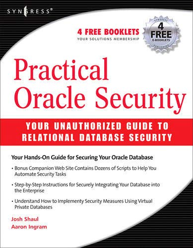 9781597491983: Practical Oracle Security: Your Unauthorized Guide to Relational Database Security