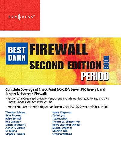 9781597492188: The Best Damn Firewall Book Period