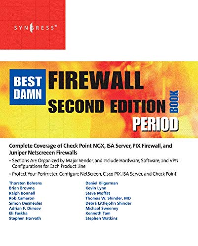 9781597492188: The Best Damn Firewall Book Period, Second Edition