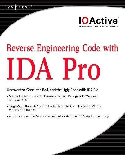 9781597492379: Reverse Engineering Code with IDA Pro