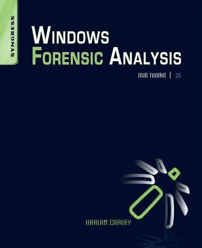 9781597494229: Windows Forensic Analysis DVD Toolkit