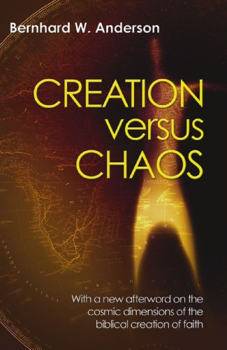 9781597520423: Creation Versus Chaos: The Reinterpretation of Mythical Symbolism in the Bible